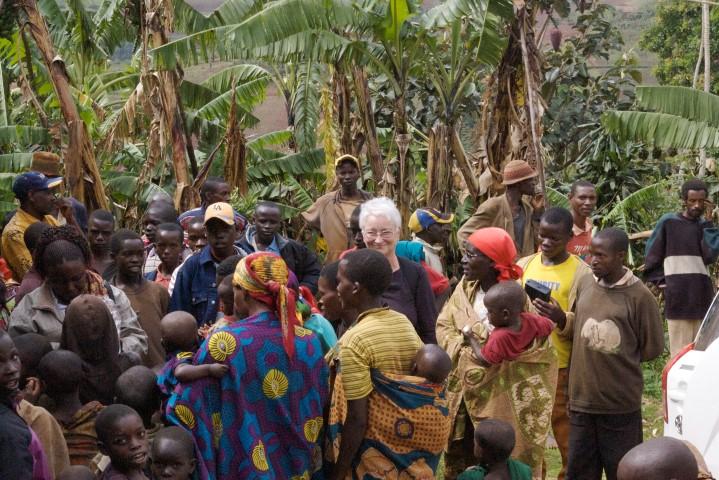 Eine Weiße in Burundi (Small)